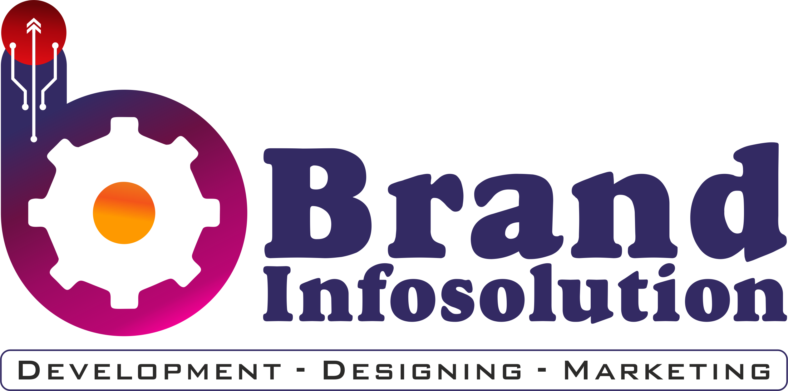 Brand Infosolution Logo